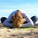 Jeanet op het strand